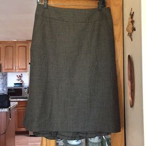 Banana Republic skirt kick pleated wool
